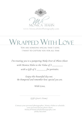 Gift Box MESSAGE 'WRAPPED WITH LOVE'