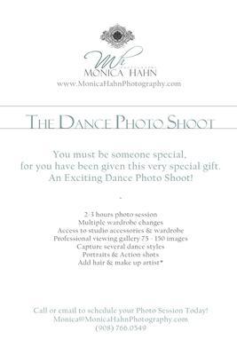 Gift Box MESSAGE 'DANCE PHOTO SHOOT'