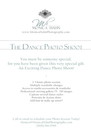 Gift Box MESSAGE 'DANCE PHOTO SHOOT'