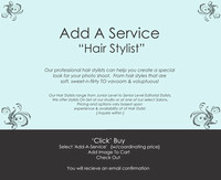 Add Professional Services    {Hair_Stylist}